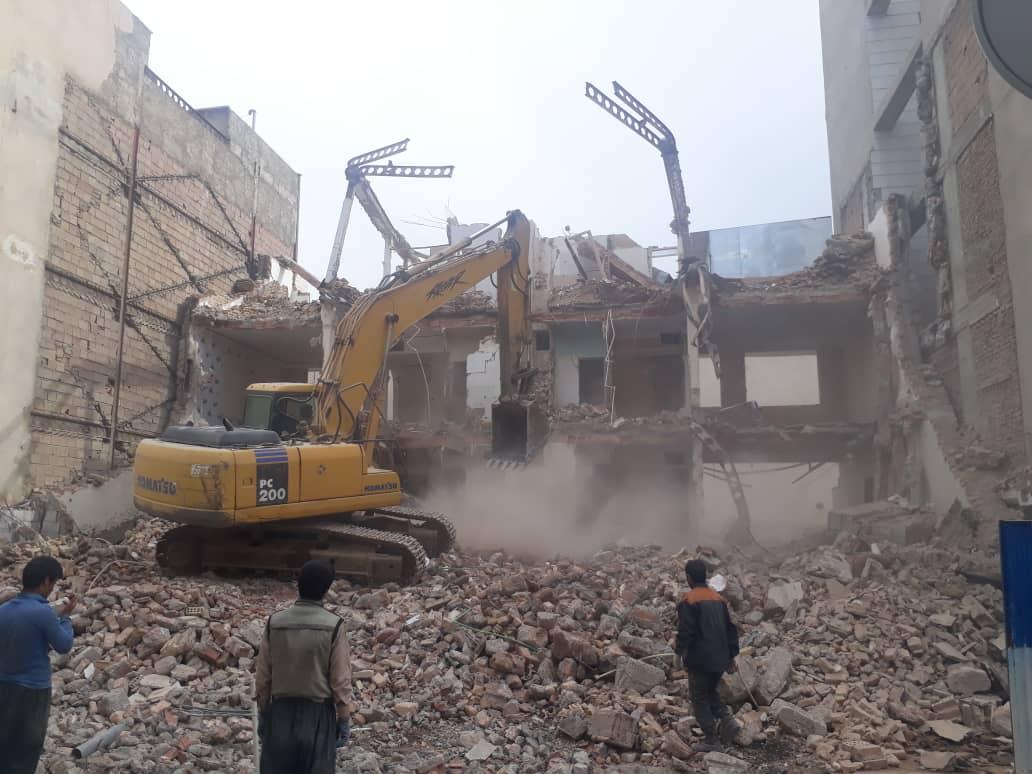 ابزار تخریب ساختمان
