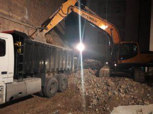 تخریب ساختمان در تهران