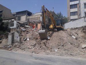 قیمت تخریب ساختمان